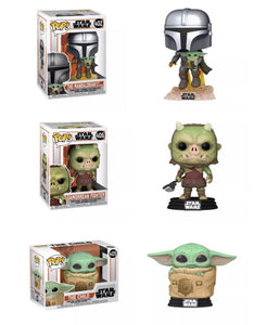 PRE-ORDER - POP! Star Wars: The Mandalorian, Bundle of 3