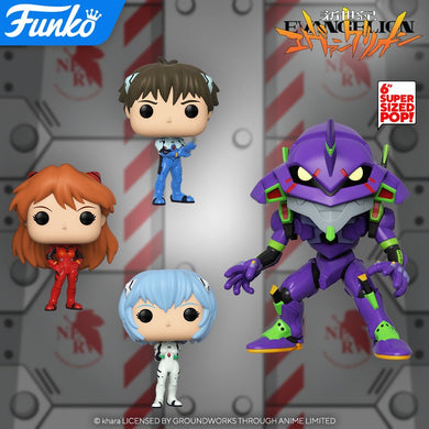POP! Animation: Evangelion, Bundle of 4 w/ 6