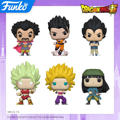 PRE-ORDER - 06/2020 POP! Animation: Dragon Ball Super (DBS) S4, Bundle of 6