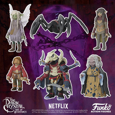 PRE-ORDER - Action Figure: The Dark Crystal Age of Resistance, Bundle of 6
