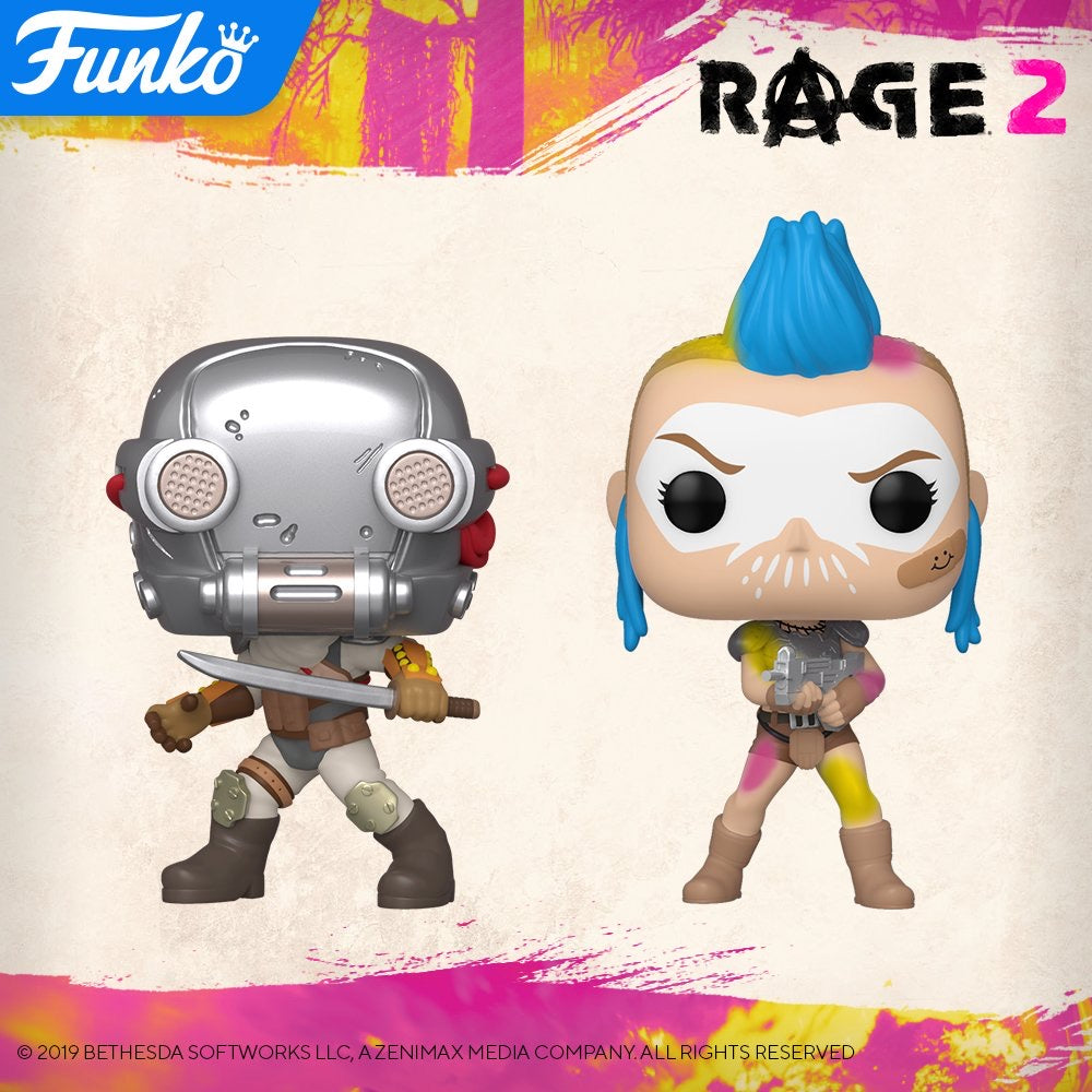 PRE-ORDER - POP! Games: Rage 2, Bundle of 2