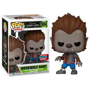 POP! Television: 1034 The Simpsons, Werewolf Bart Fall Convention 2020 Exclusive