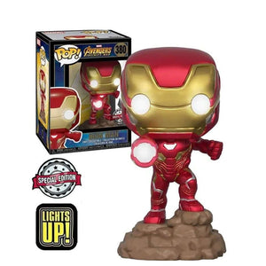 POP! Marvel: 380 Avengers Infinity War, Iron Man (Light up) (Special Edition) Exclusive