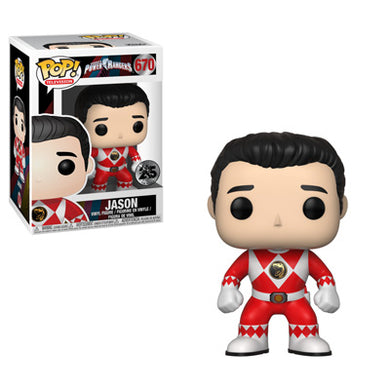 POP! TV:  670 Power Rangers, Jason (Red Ranger)