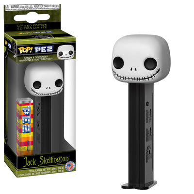 POP! PEZ: The Nightmare Before Christmas, Jack Skellington
