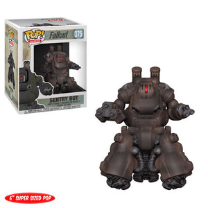 "POP! Games: 375 Fallout, Sentry Bot (Deluxe 6"")"