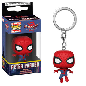 POP! Keychain: Animated Spider-man, Peter Parker
