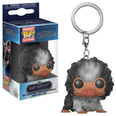 PRE-ORDER 01/2019 - POP! Keychain: Crimes Against Grindelwald, Baby Niffler (Brown Multi)