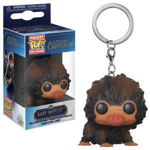 POP! Keychain: Crimes Against Grindelwald, Baby Niffler (Brown)