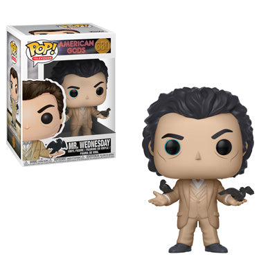 POP! Television: 680 American Gods, Mr. Wednesday