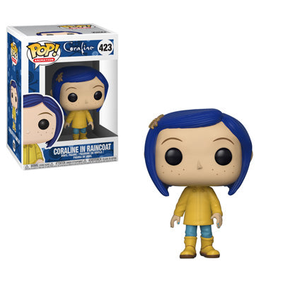 PRE-ORDER - 12/18 POP! Animation: 423 Coraline, Coraline in Raincoat