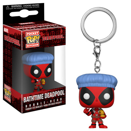 POP! Keychain: Deadpool Bath Time