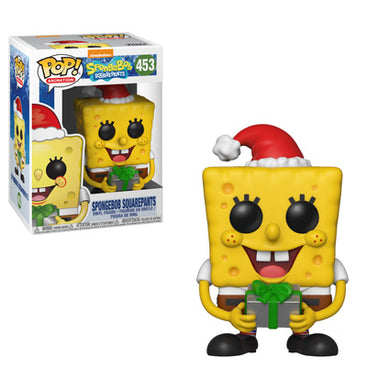 PRE-ORDER - 11/18 POP! Animation: 453 Spongebob Squarepants, Spongebob Squarepants Christmas