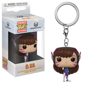 POP! Keychain: Overwatch, D. Va