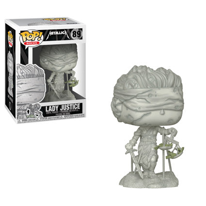 POP! Rocks: 89 Metallica, Lady Justice