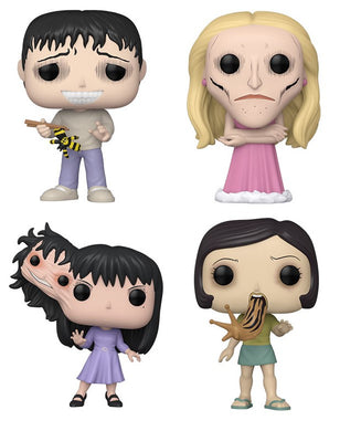 PRE-ORDER - POP! Animation: Junji Ito, Bundle of 4