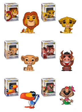 POP! Disney: Lion King Bundle Set of 6