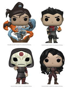 PRE-ORDER - POP! Animation: Legend of Korra (Bundle of 4)