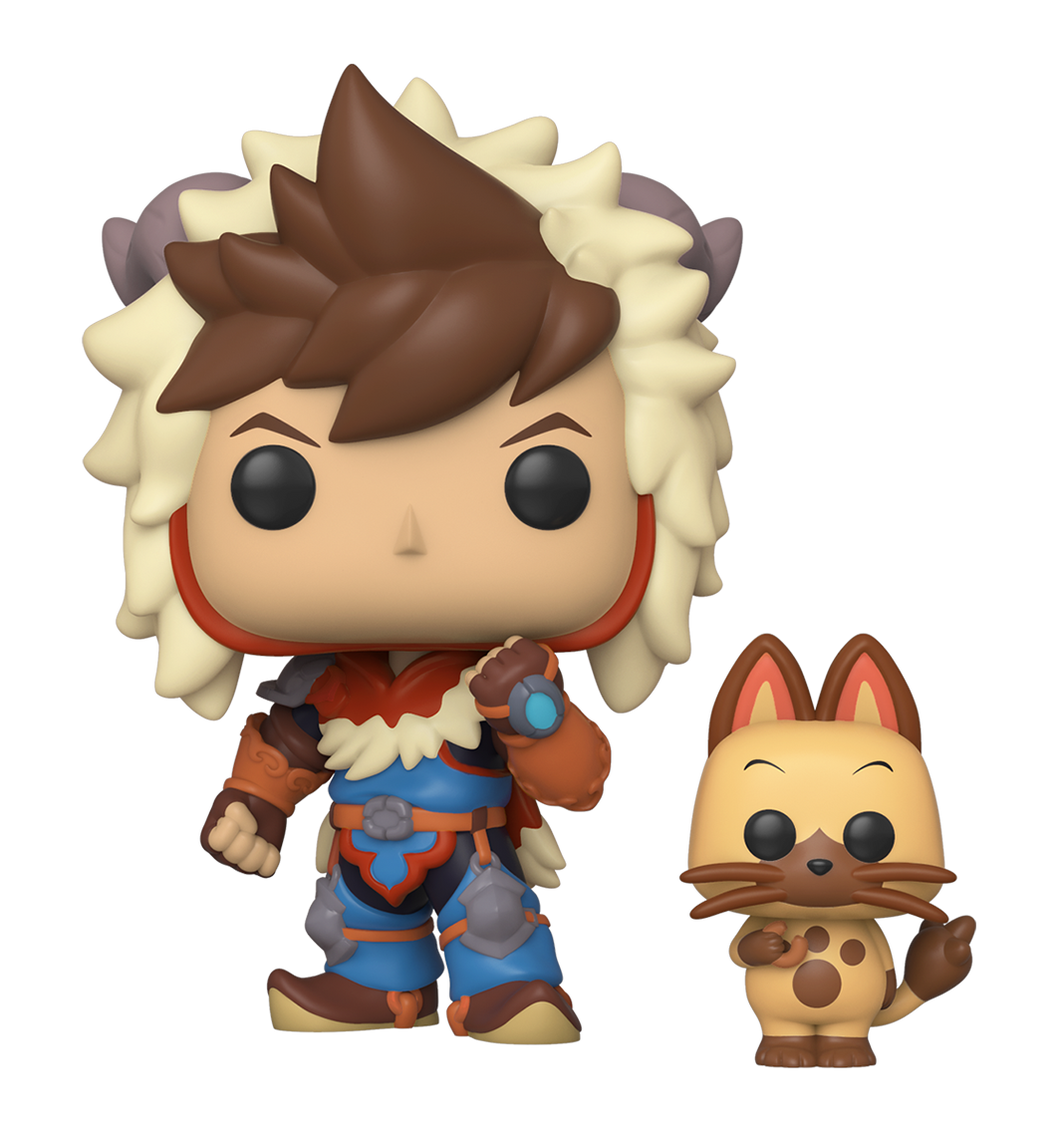 POP! Animation: Monster Hunter, Lute w/ Navirou