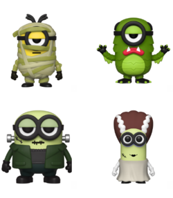 PRE-ORDER - POP! Movies: Minions, Funkoween (Bundle of 4)