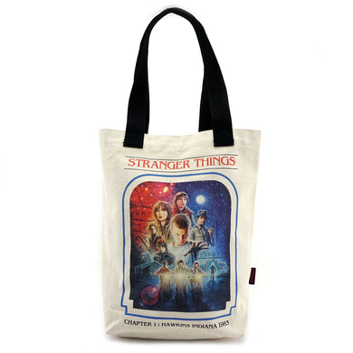 Loungefly: Stranger Things Chapter 1 Canvas Tote Bag