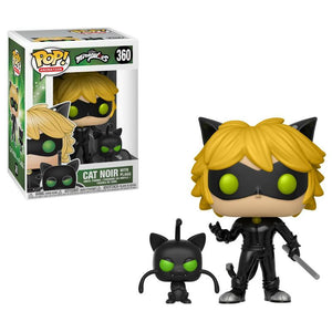 POP! Animation: 360 Miraculous, Cat Noir with Plagg