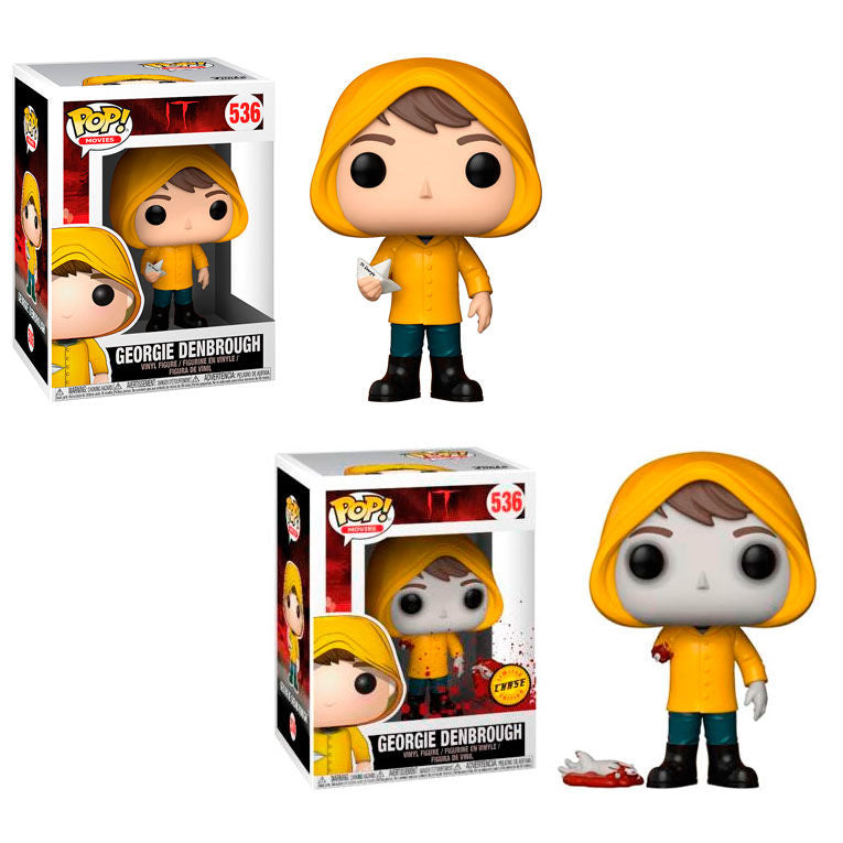 POP! Movies: 536 IT, Georgie Denbrough Chase Bundle