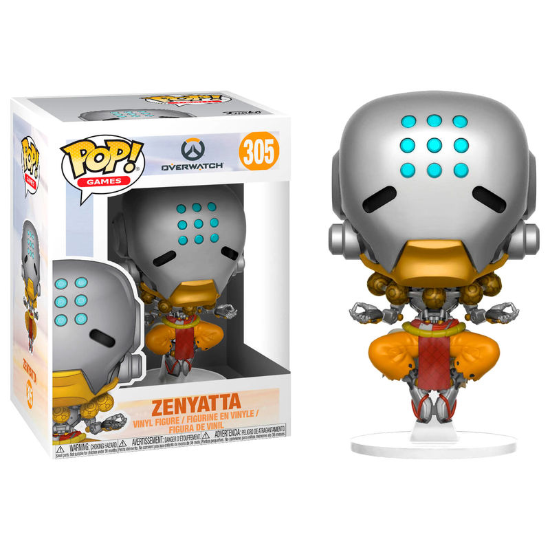 POP! Games: 305 Overwatch, Zenyatta