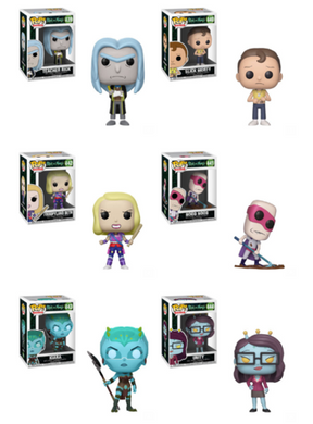 POP! Animation: Rick and Morty Complete Bundle, Set of 6