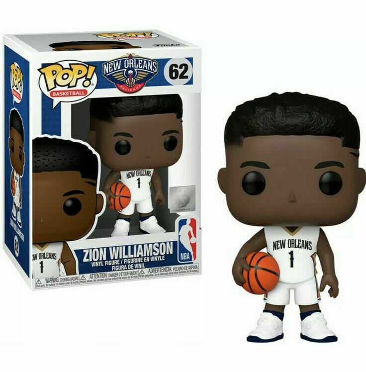 POP! Basketball: 62 New Orleans Pelicans, Zion Williamson
