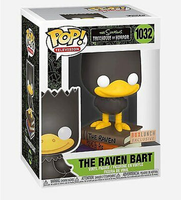 *POP! Television: 1032 The Simpsons Treehouse of Horror, The Raven Bart (BoxLunch) Exclusive