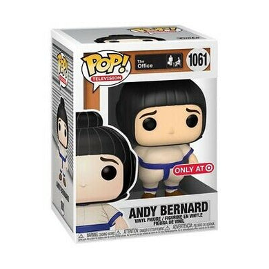 POP! Television: 1061 The Office, Andy Bernard (Sumo Suit) (Target) Exclusive
