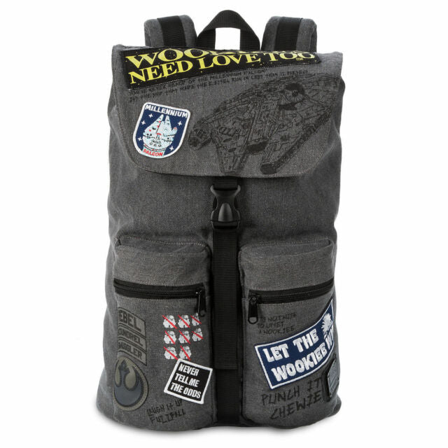 Loungefly: Star Wars Rebel Wookie Patch Backpack