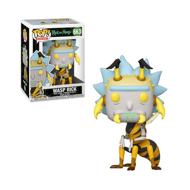 POP! Animation: 663 Rick and Morty, Wasp Rick