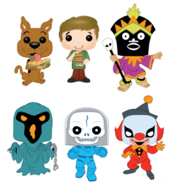 PRE-ORDER - 06/2019 POP! Animation: Scooby Doo, Bundle of 6