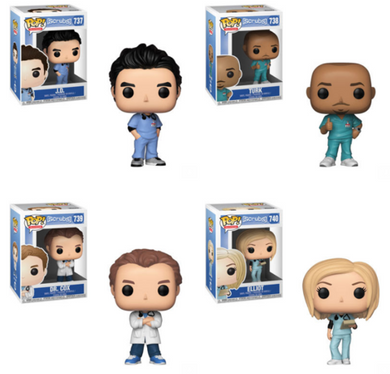 POP! TV: Scrubs Bundle set of 4