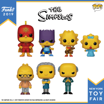 PRE-ORDER - 06/2019 POP! Animation: Simpsons Bundle of 7