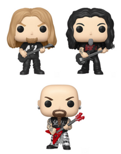 PRE-ORDER - 04/2020 POP! Rocks: Slayer, Bundle of 3