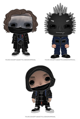 COVID-19 DELAY - PRE-ORDER - POP! Rocks: Slipknot (Bundle of 3)