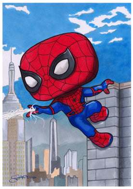 Scoots Art: Spider-Man 11x17 Print