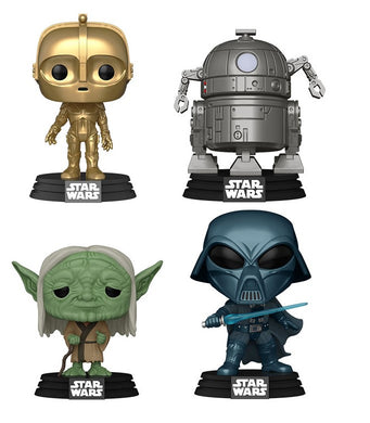 PRE-ORDER - POP! Star Wars: Concept Series, Bundle of 4