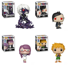 PRE-ORDER - 02/2019 POP! Animation: Tokyo Ghoul, Set of 4 Bundle