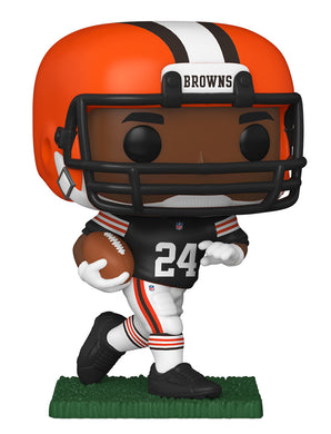 PRE-ORDER - POP! NFL: Cleveland Browns, Nick Chubb
