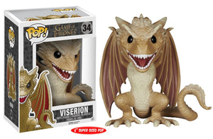 POP! Game of Thrones: 34 Viserion (6-Inch)