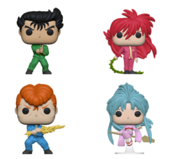 PRE-ORDER - 07/2019 POP! Animation: Yu Yu Hakusho, Bundle of 4