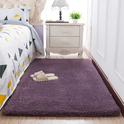 Purple Shag Pile Rug