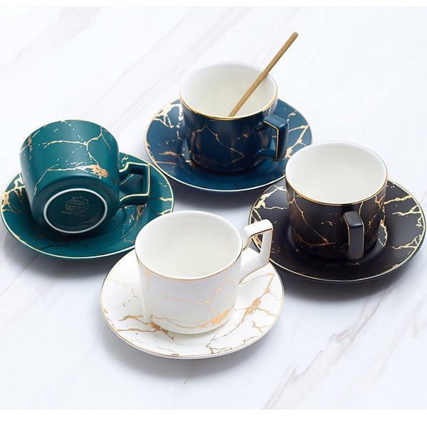 Marble Ceramic Coffee Set
