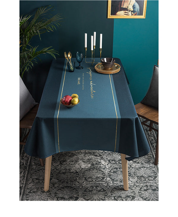 Modern Waterproof Tablecloth