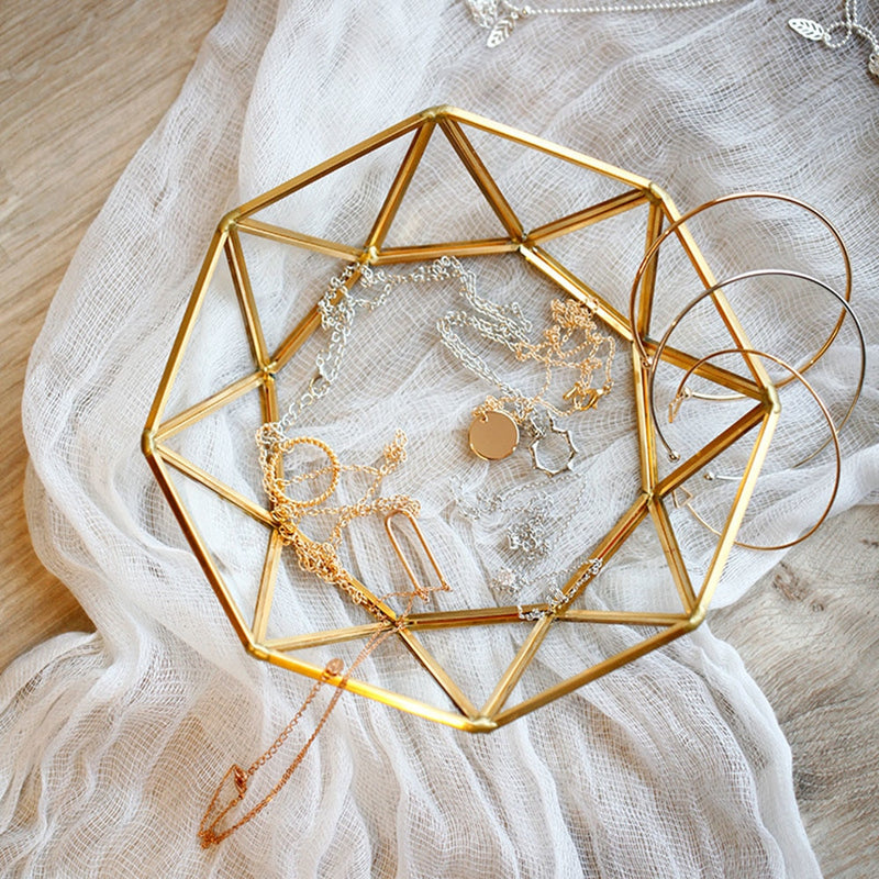 Octagonal Jewellery Tray