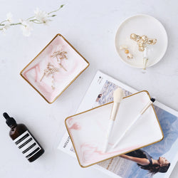Pink Marble Tray